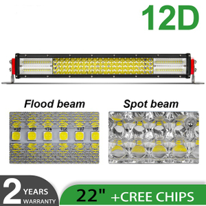 Квадратный ряд 12D ATV Led Light Bar JG-9642D